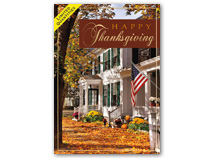 Stately Thanks Thanksgiving Cards
