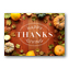 Rustic Bounty Thanksgiving Holiday Greeting Cards