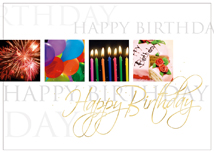 Picturesque Wishes Happy Birthday Card